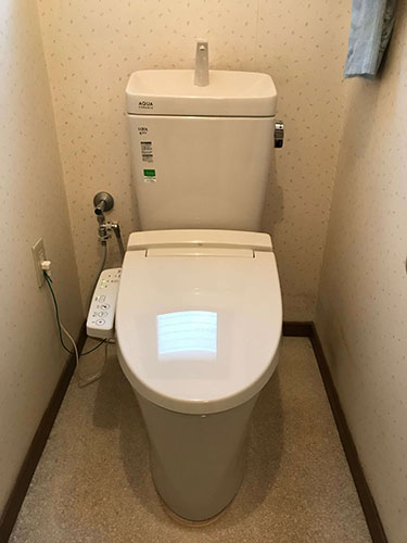 兵庫県西宮市 トイレ修理:施工実績