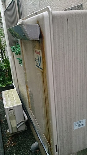 神奈川県相模原市中央区 給湯器修理:施工実績