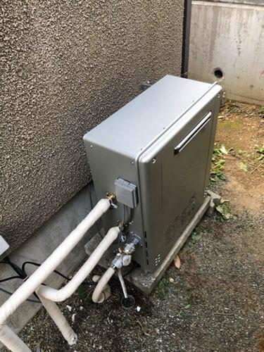 神奈川県横浜市都筑区 給湯器交換:施工実績