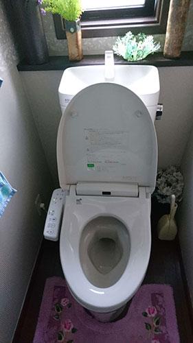 トイレ水漏れ 大分県由布市:施工実績