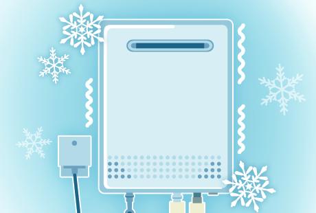 寒い時期は要注意!給湯器の凍結防止・対処策をご紹介:イメージ