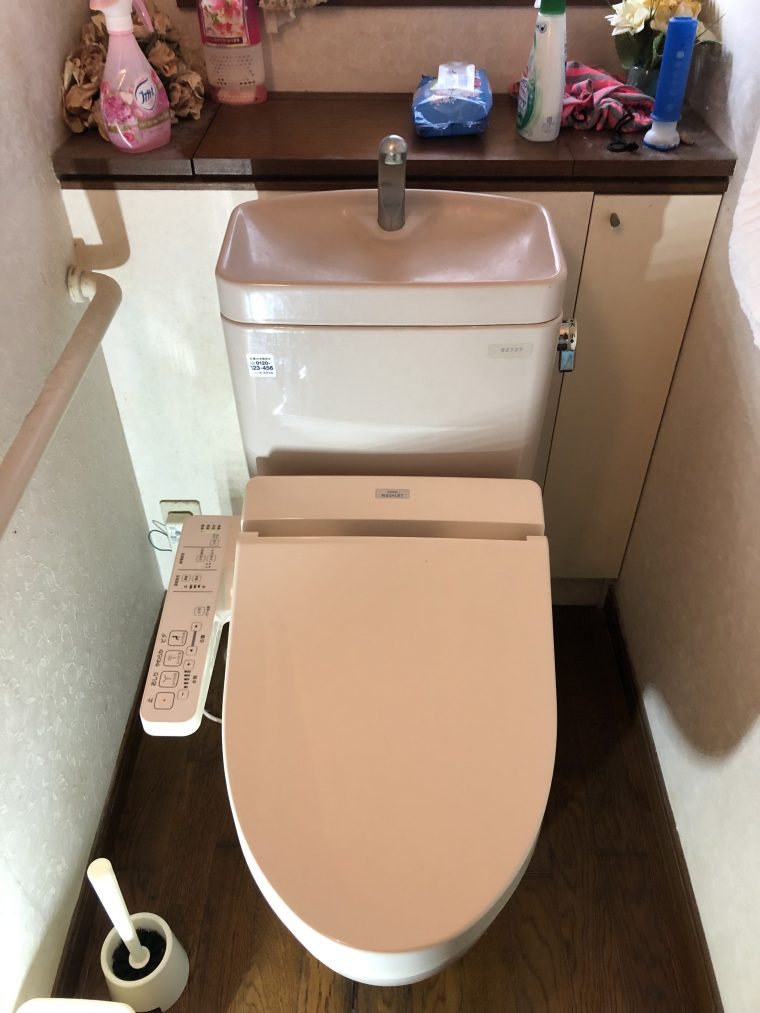 20190203_011 トイレタンク修理 兵庫県伊丹市:施工実績