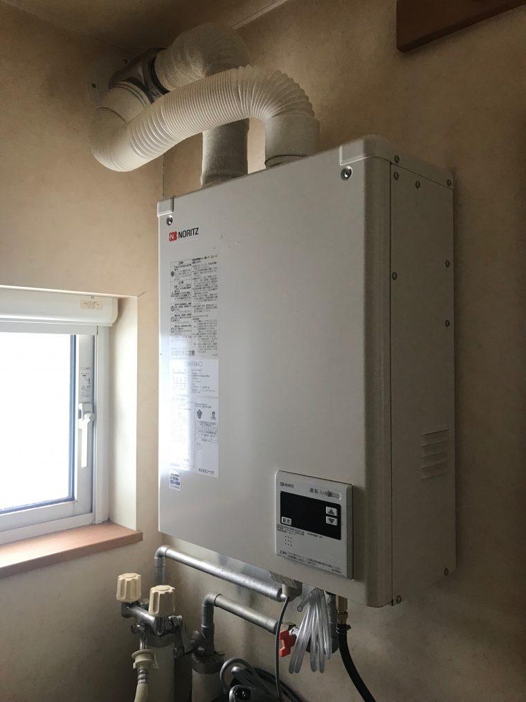 20190207_003 ボイラーの給湯器交換 北海道札幌市南区:施工実績