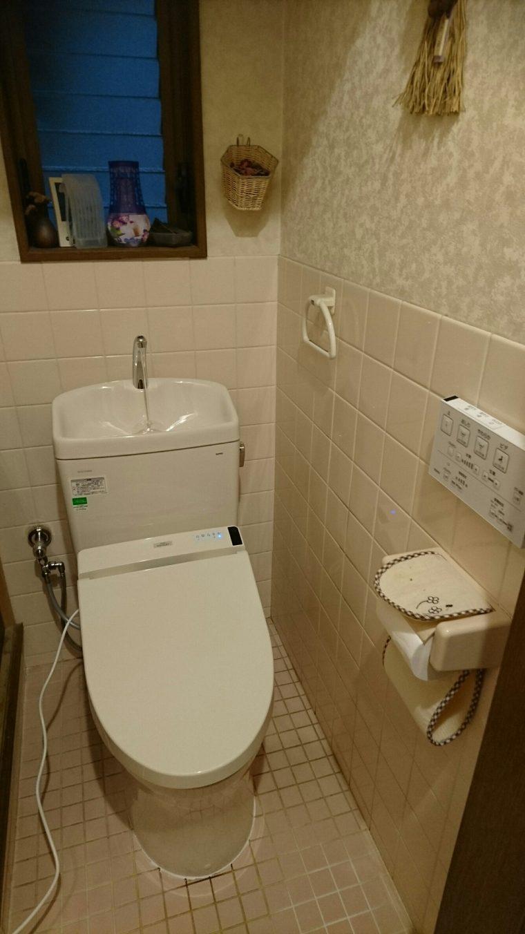 20190208_002 トイレ交換 奈良県奈良市:施工実績