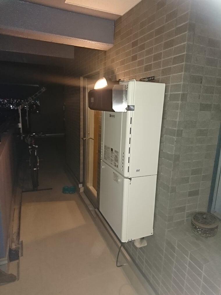 20190215_001 給湯器交換 東京都大田区:施工実績
