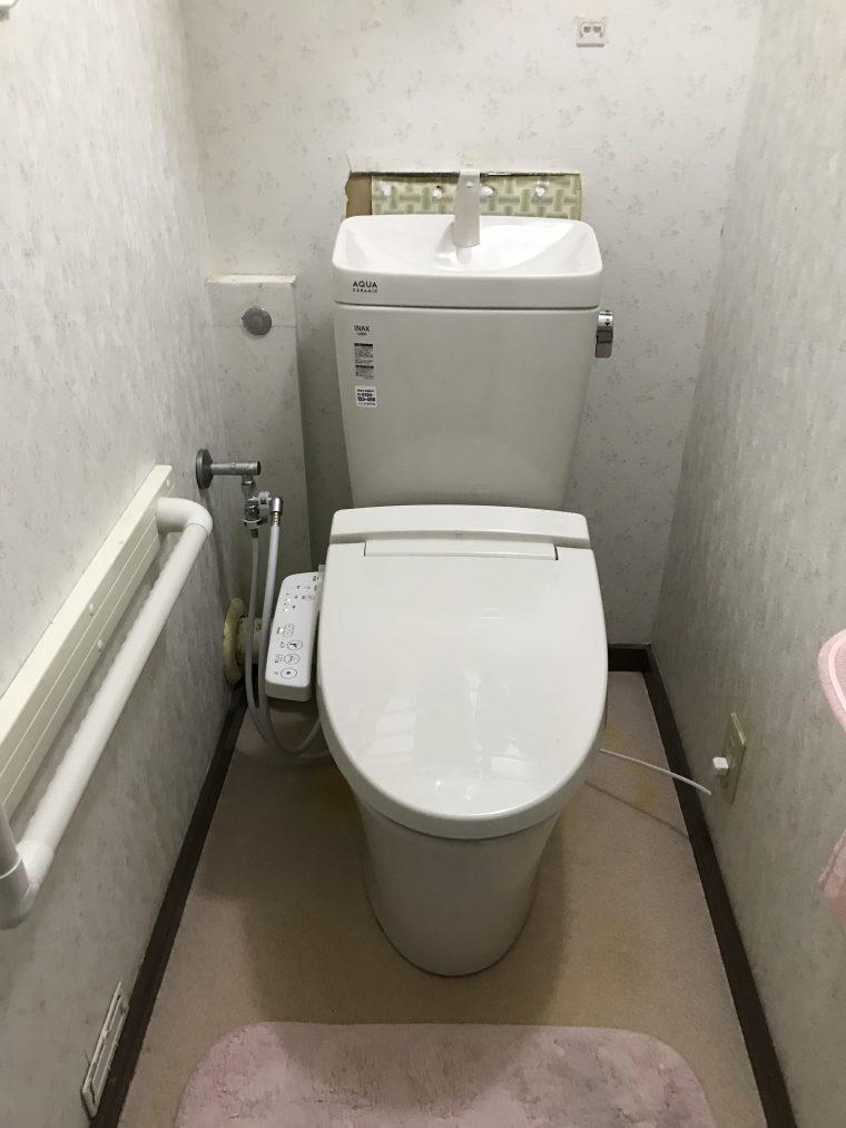 20190218_053 便器交換 兵庫県神戸市須磨区:施工実績