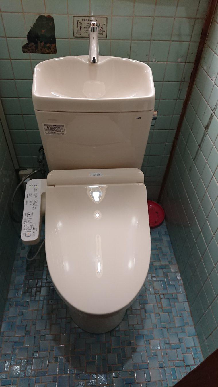 20190219_025 トイレ交換 神奈川県足柄上郡中井町:施工実績