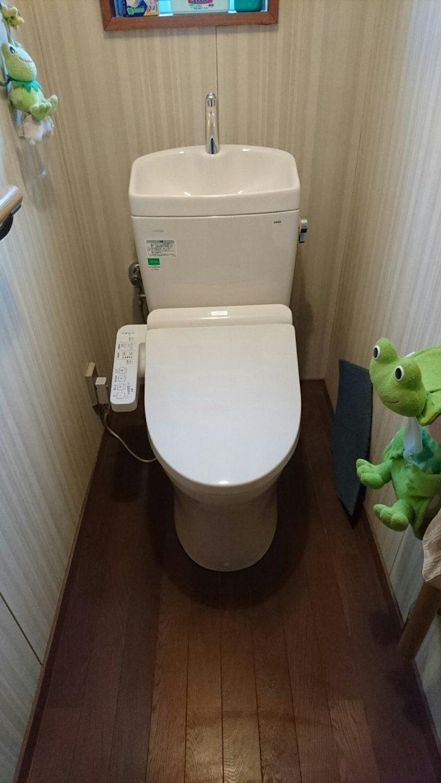 20190220_029 トイレ交換 奈良県奈良市:施工実績