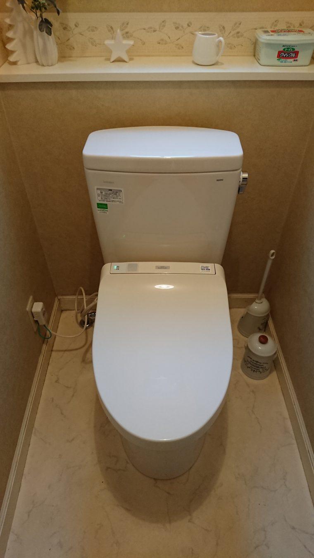 20190327_012 トイレ交換 東京都町田市:施工実績