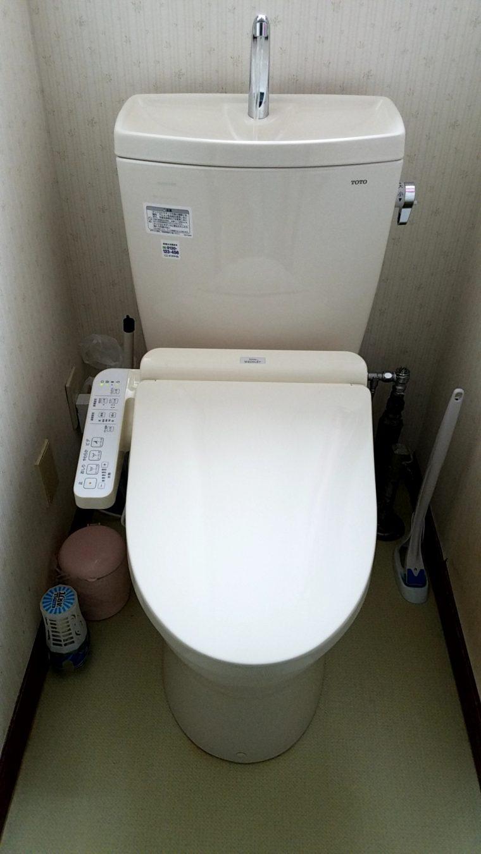 20190401_019 トイレ交換 北海道江別市:施工実績