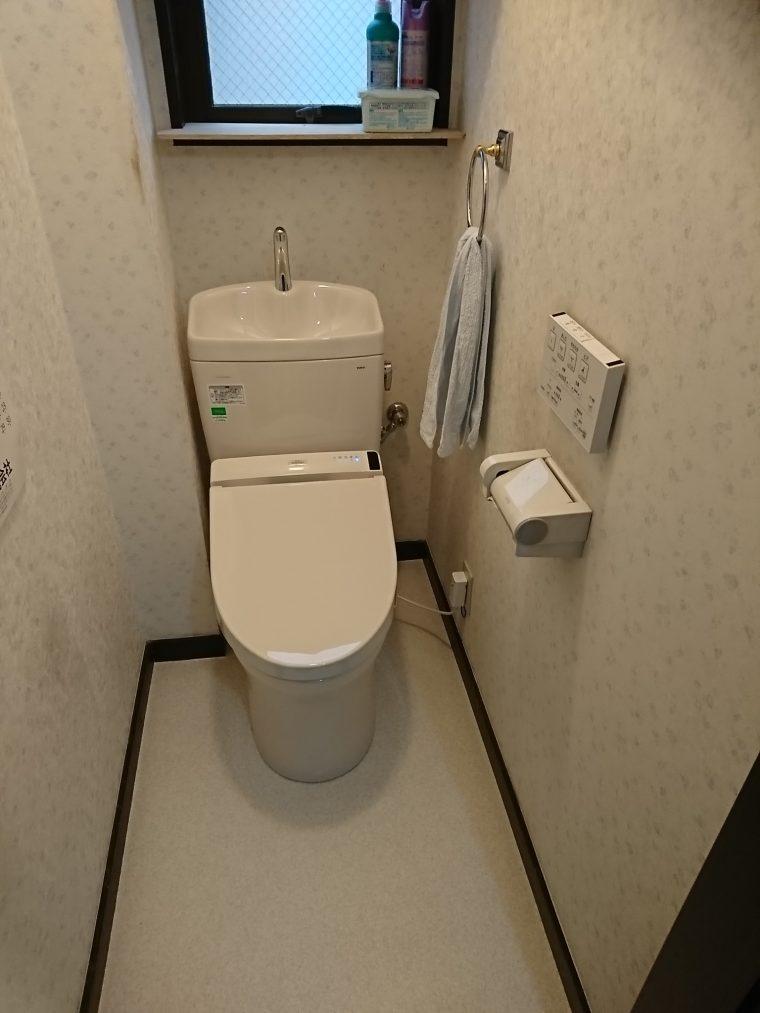 20190401_030 トイレ交換 東京都葛飾区:施工実績