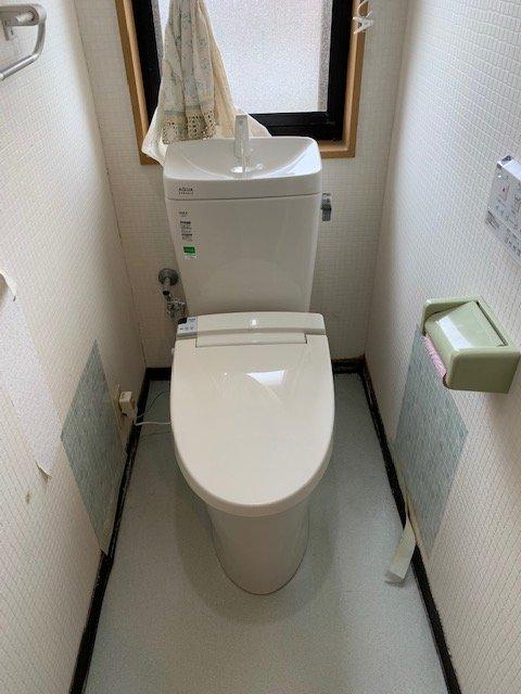 20190408_004 トイレ交換 富山県高岡市:施工実績