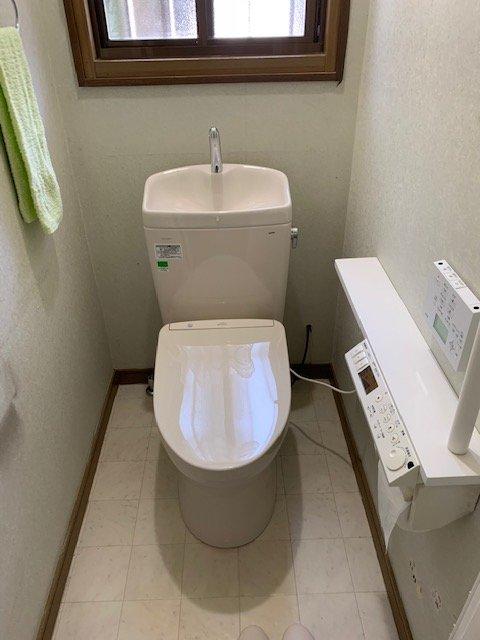 20190408_009 トイレ交換 茨城県東茨城郡茨城町:施工実績
