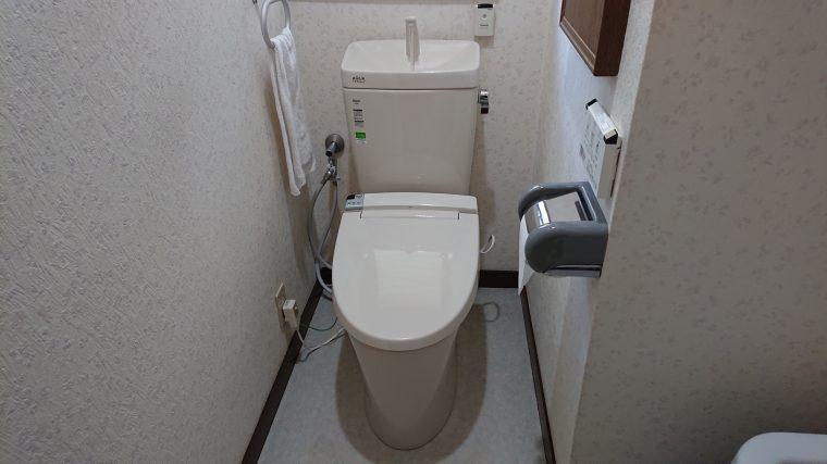 20190408_027 トイレ交換 茨城県桜川市:施工実績