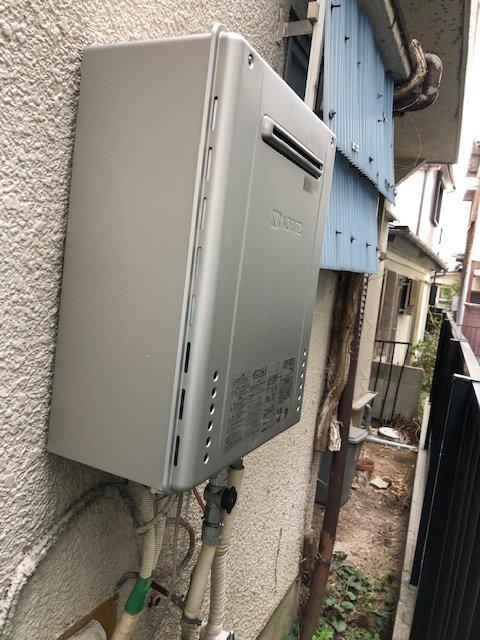20190408_039 給湯器交換 兵庫県西宮市:施工実績