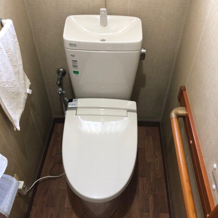 20190408_047 トイレ交換 千葉県四街道市:施工実績