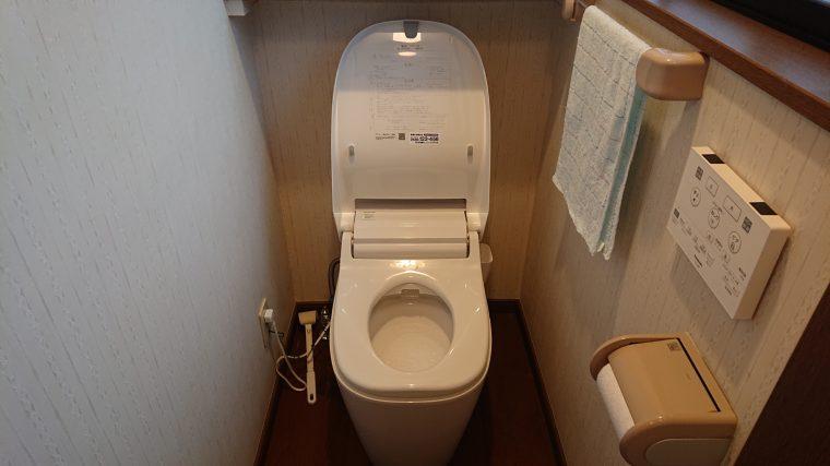 20190410_005 トイレ交換 茨城県行方市:施工実績
