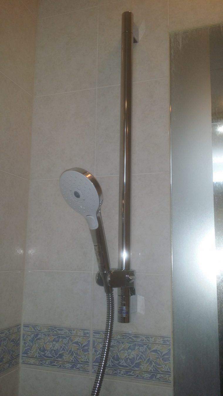 20190302_018 浴室スライドバー交換 東京都千代田区:施工実績