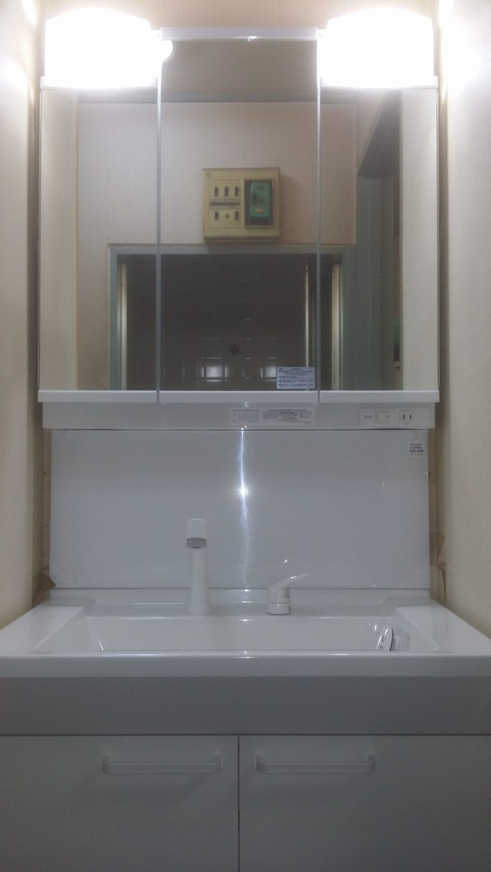 20190304_027 洗面化粧台交換 東京都杉並区:施工実績