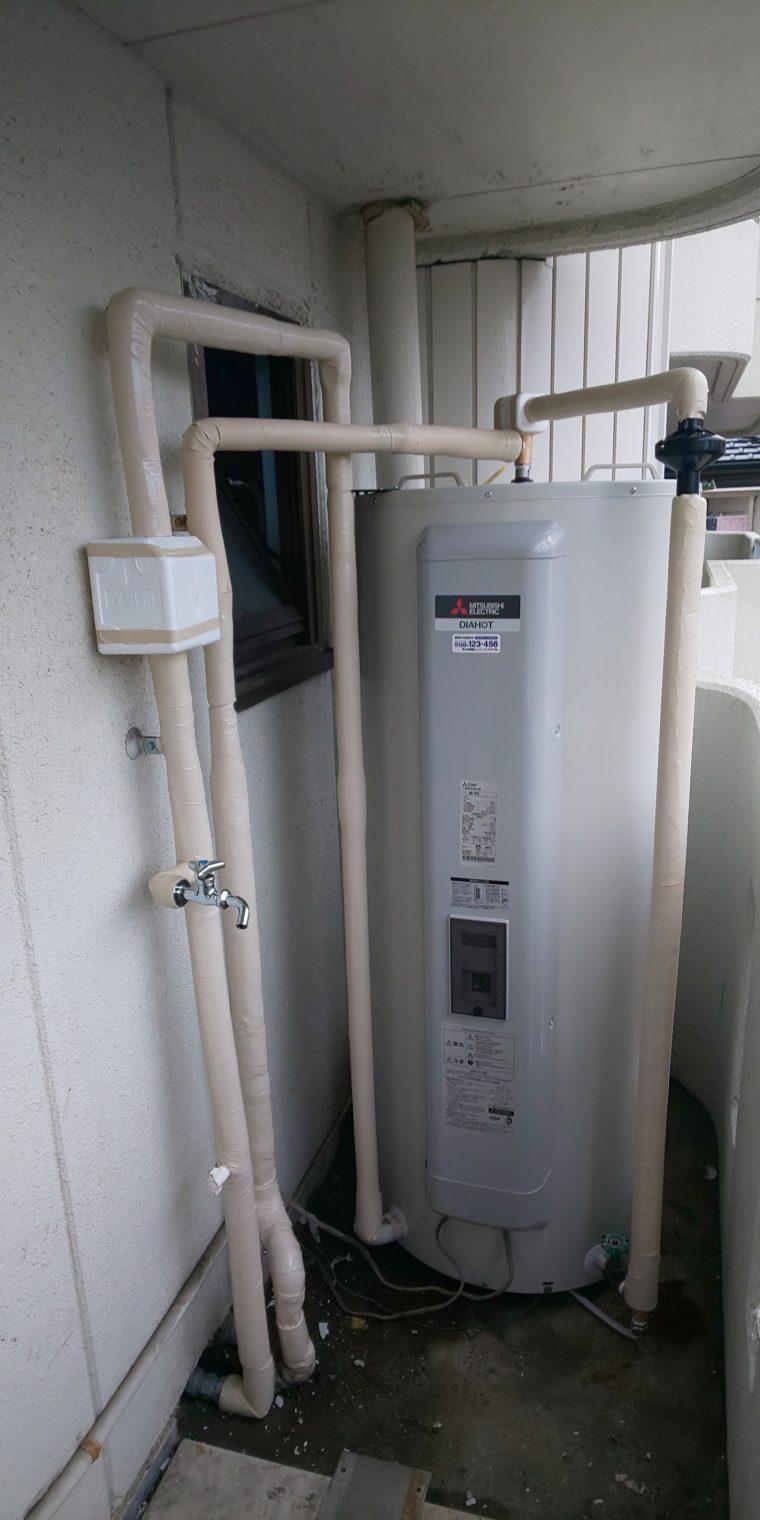 20190401_020 電気温水器交換 兵庫県姫路市:施工実績