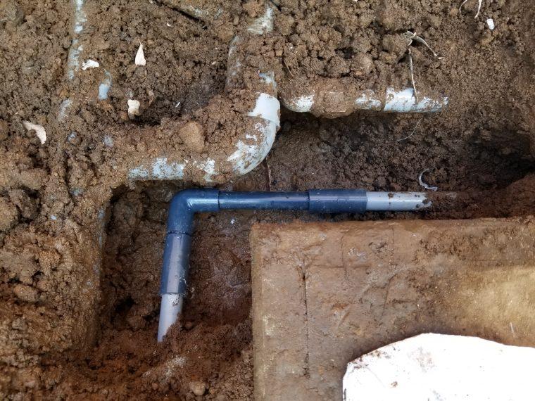 20190415_068 屋外給水管修理 神奈川県横浜市南区:施工実績
