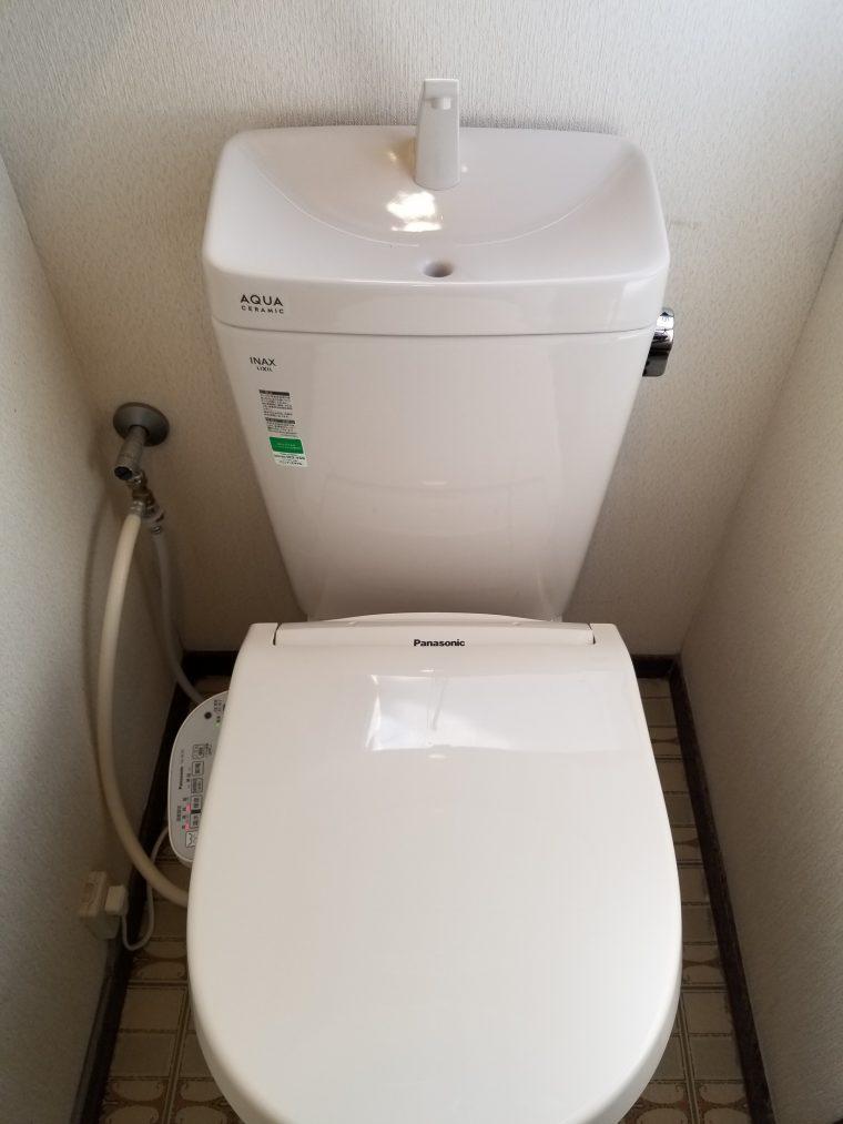 20190424_001 トイレ交換 東京都調布市:施工実績