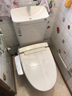 20190424_020 トイレ交換 福岡県福岡市西区:施工実績