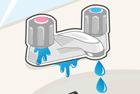 洗面所の水漏れの原因は?応急処置はどうすればいいの?:イメージ