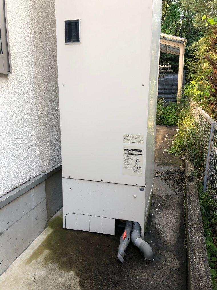 20190506_049 エコキュート排管修理 滋賀県湖南市:施工実績