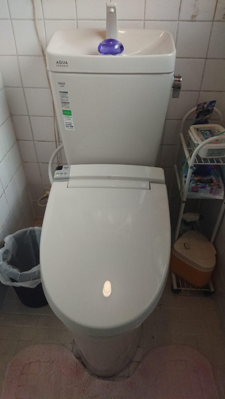 20190508_007 トイレ交換 兵庫県たつの市:施工実績