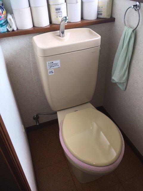 20190509_017 トイレ修理 東京都日野市:施工実績