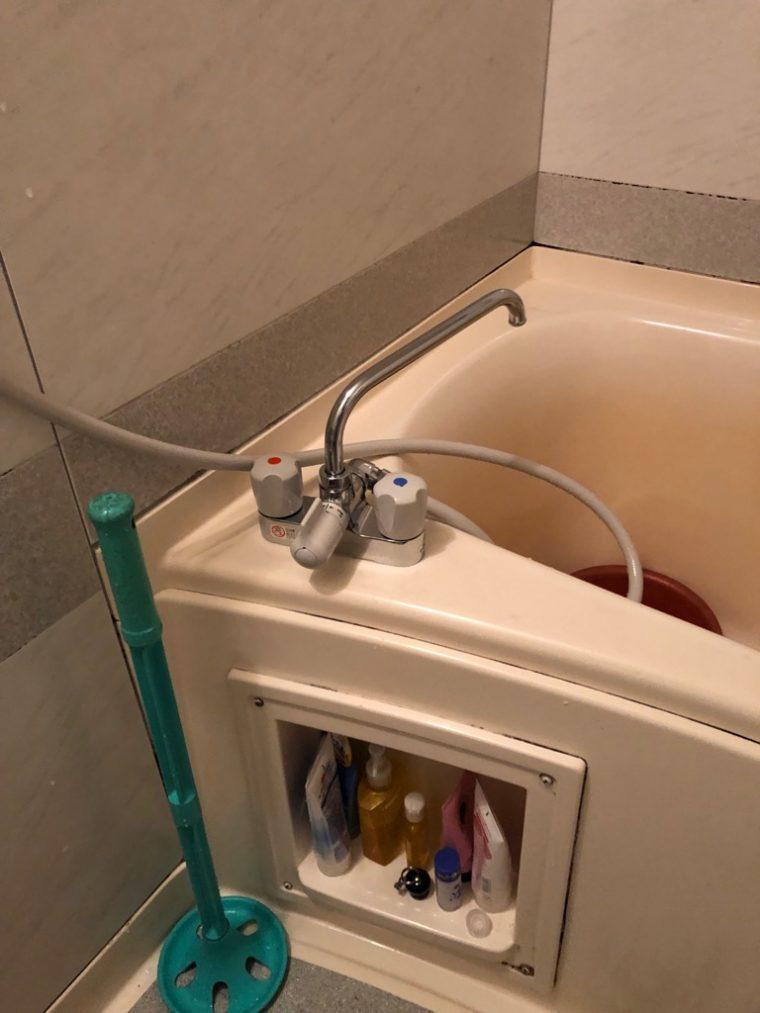 20190511_020 浴室蛇口交換 東京都中野区:施工実績