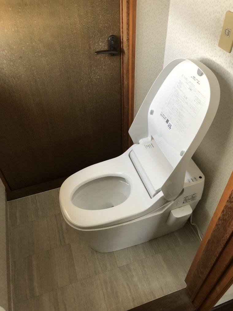 20190514_022 トイレ交換 兵庫県たつの市:施工実績