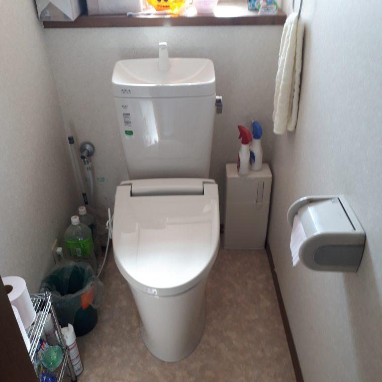 20190522_003 トイレ交換 静岡県掛川市:施工実績