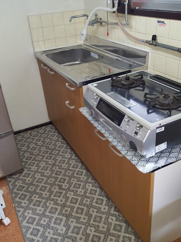 20190527_090 ブロックキッチン交換 大阪府茨木市:施工実績