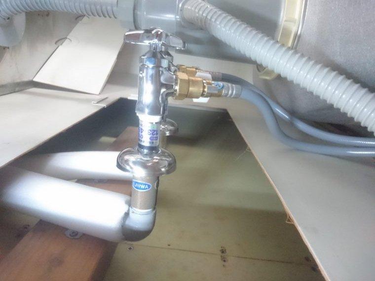 20190603_027 台所水漏れ修理 京都府亀岡市:施工実績