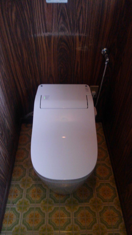20190603_058 トイレ交換 山梨県中央市:施工実績