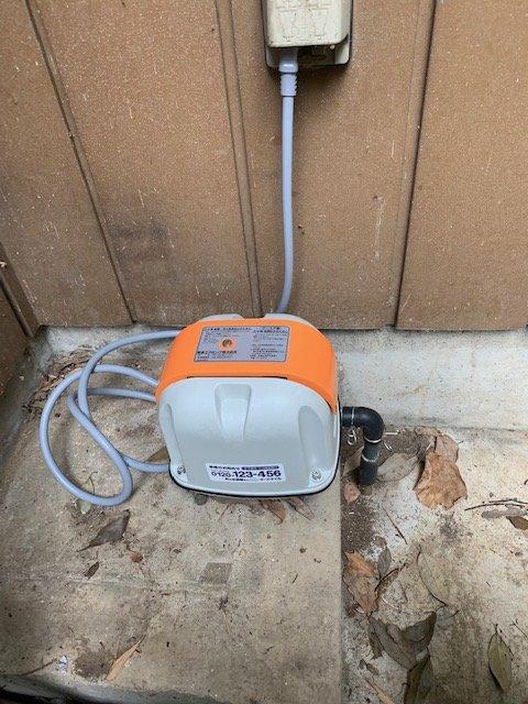 20190610_024 浄化槽ポンプ交換 群馬県邑楽郡:施工実績