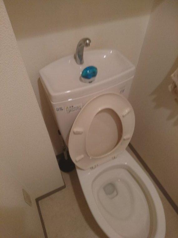 20190614_003 トイレ水漏れ修理 大阪府大阪市北区:施工実績