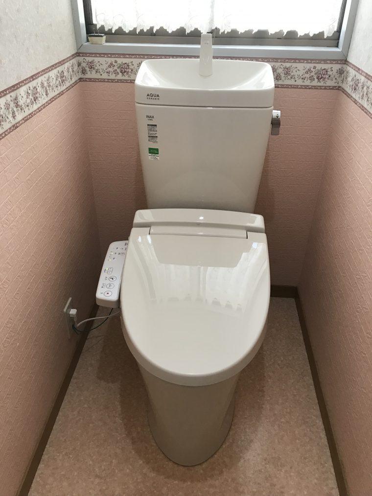 20190617_031 トイレ交換 滋賀県大津市:施工実績