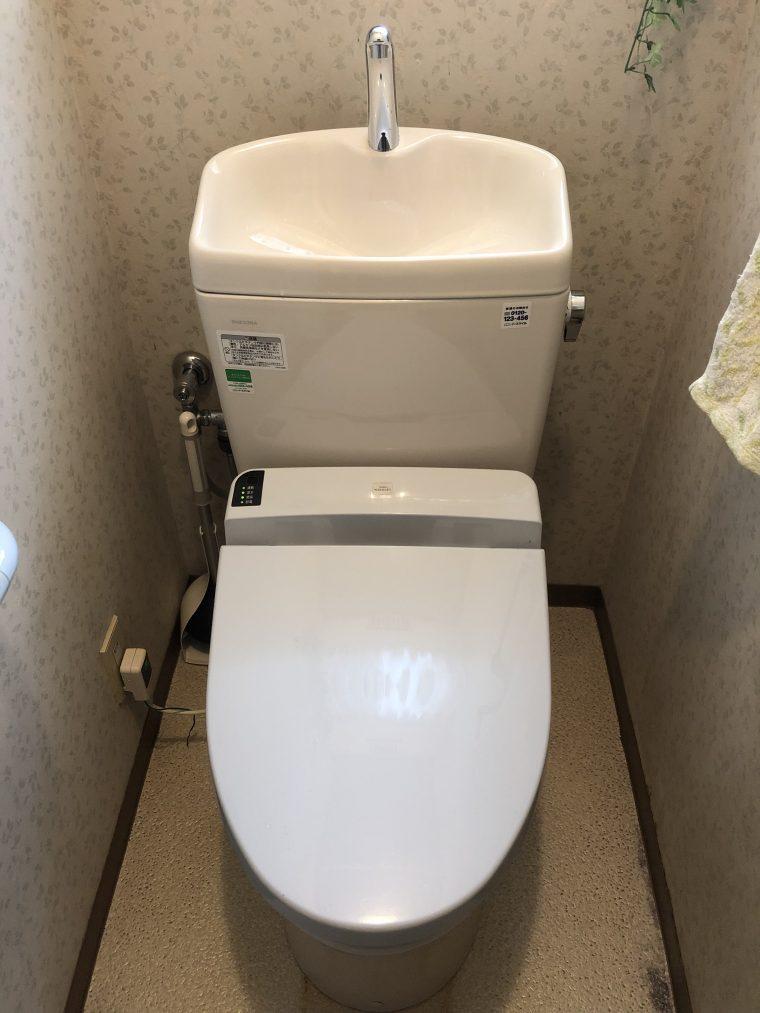 20190617_036 トイレ交換 奈良県大和郡山市:施工実績