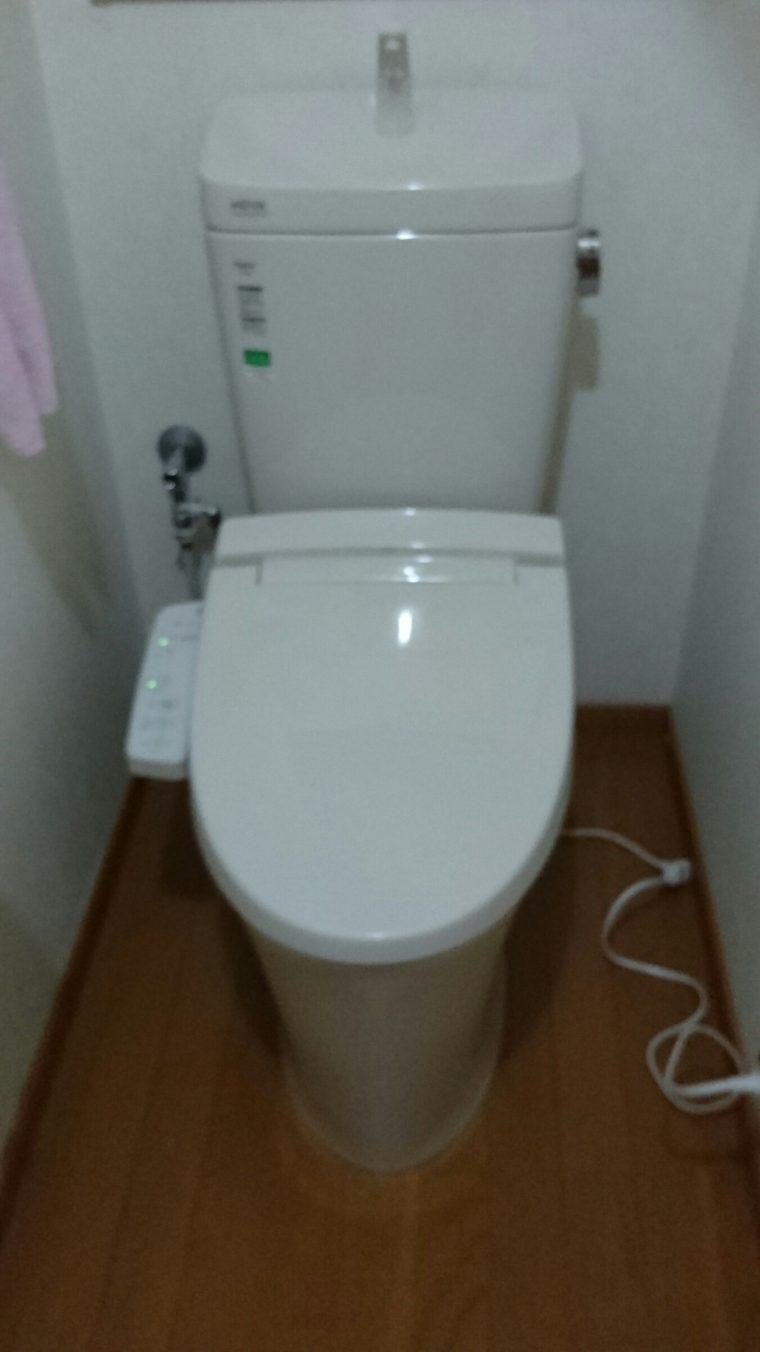 20190617_038 トイレ交換 大阪府河内長野市:施工実績
