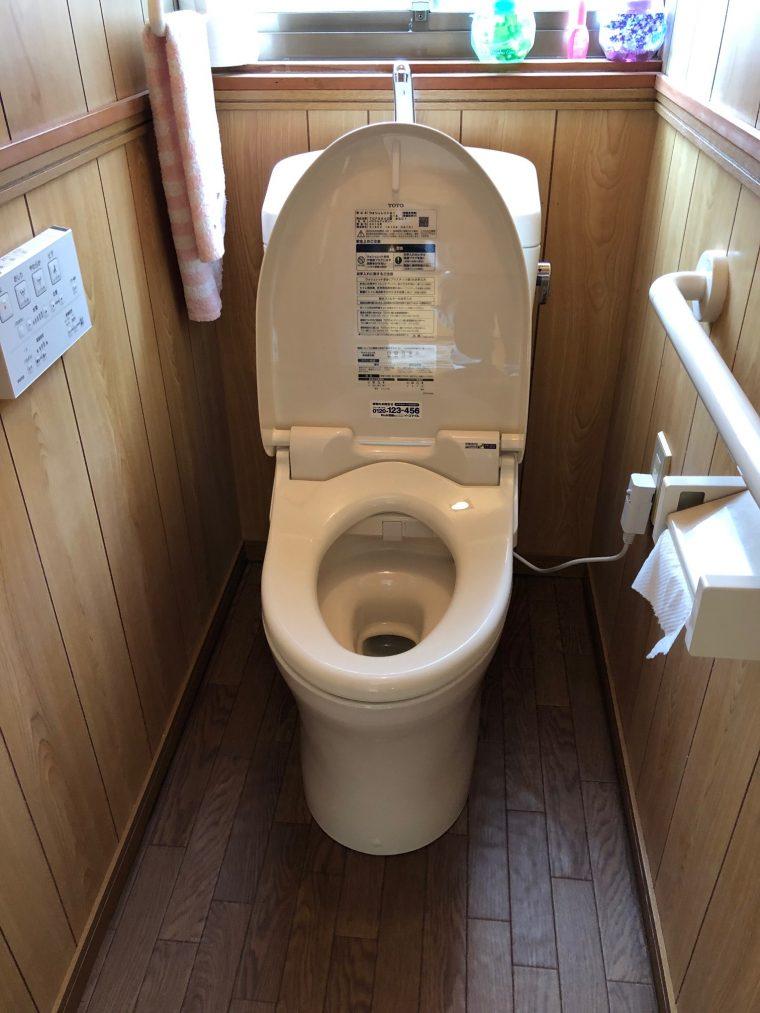 20190617_044 トイレ交換 滋賀県湖南市:施工実績
