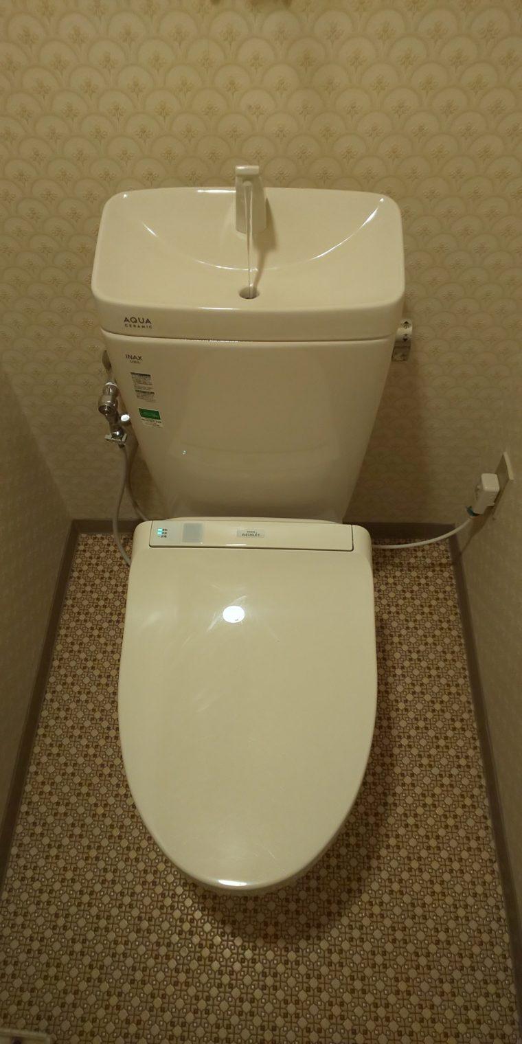 20190627_008 トイレ交換 兵庫県西宮市:施工実績