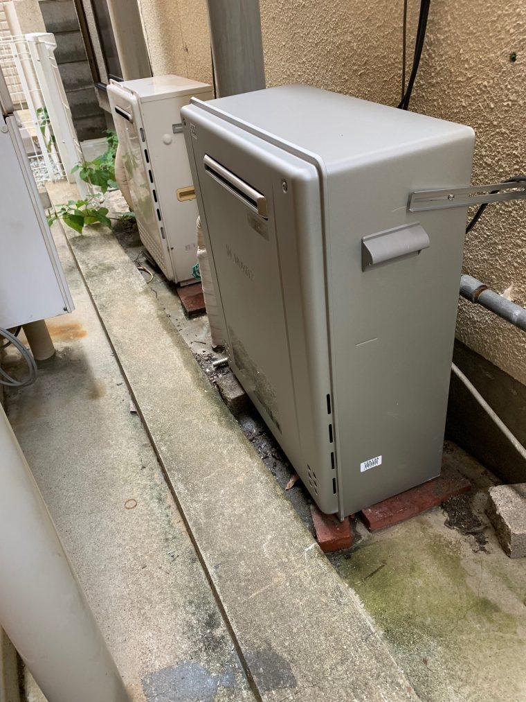 20190701_076 給湯器交換 兵庫県神戸市兵庫区:施工実績