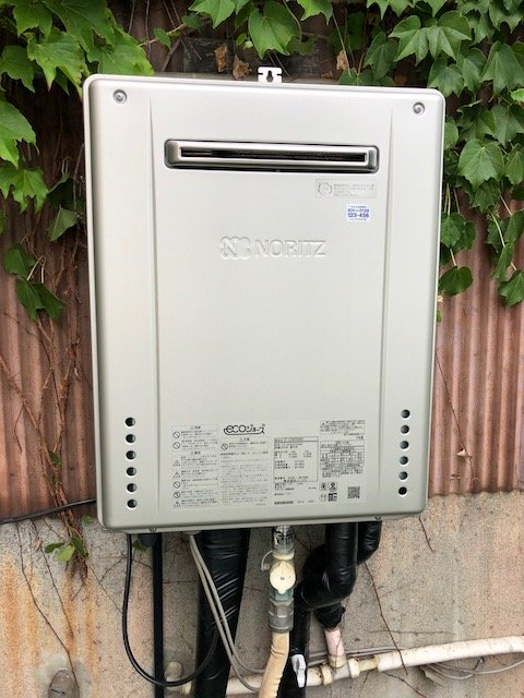 20190704_005 給湯器交換 静岡県静岡市葵区:施工実績